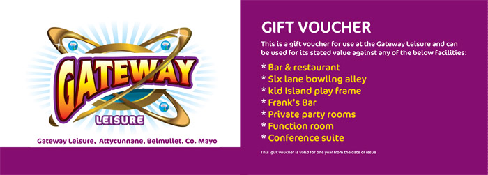 Gateway Leisure Gift Voucher